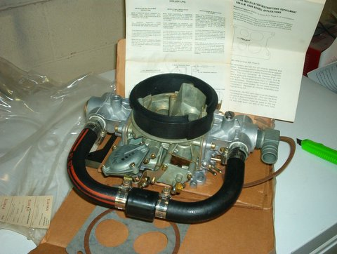 Holley 4-BBL Propane Carburetor