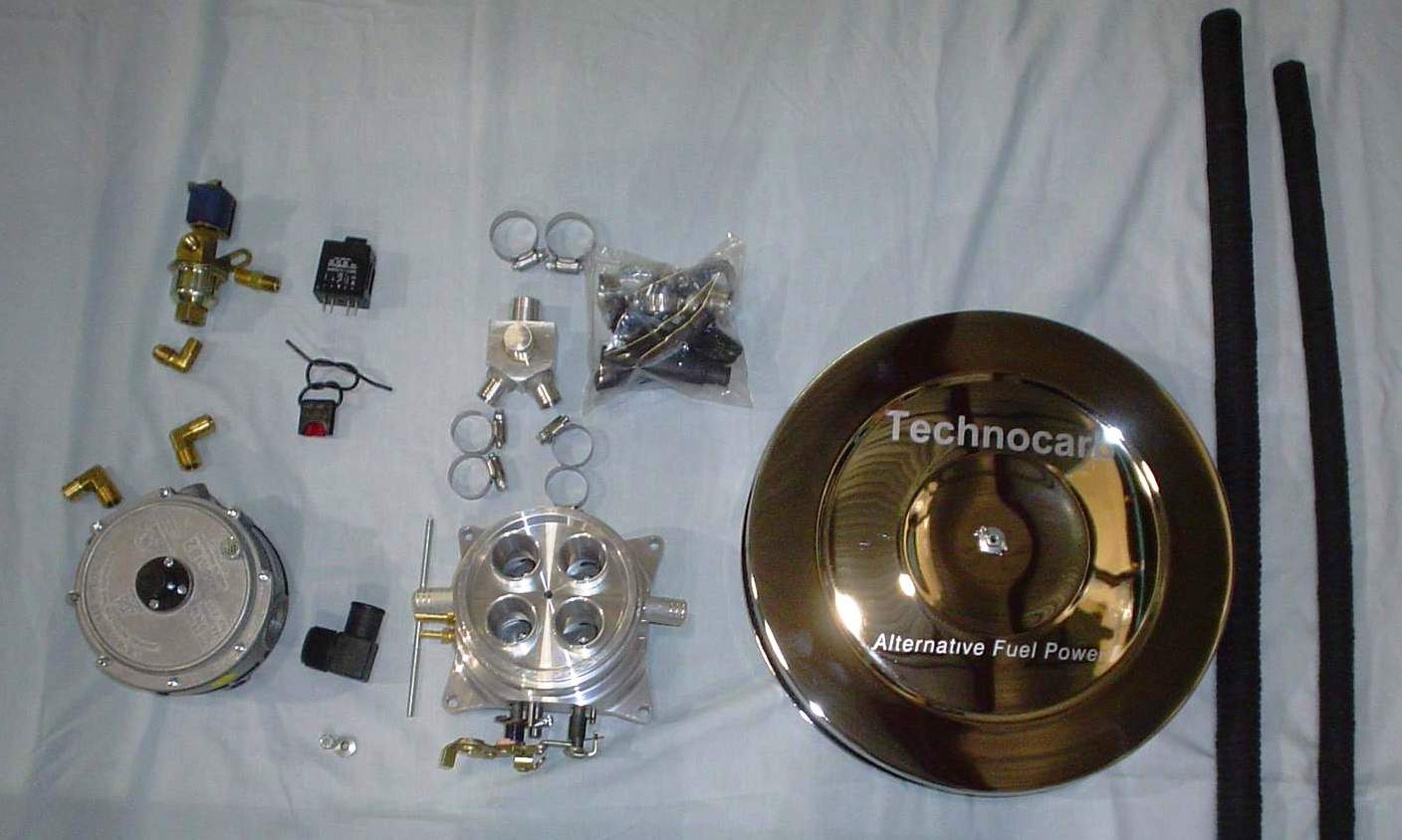 Technocarb Off-Road 4bbl Carb Kit